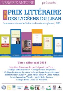 Affiche Prix 2014
